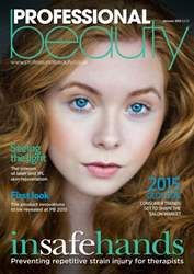 Professional Beauty January 2015 issue Professional Beauty January 2015