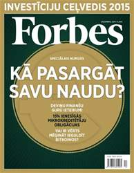 Forbes Decembris '14 issue Forbes Decembris '14