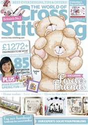 The World of Cross Stitching Magazine Cover