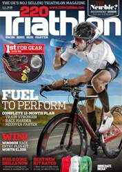 220 Triathlon Magazine Magazine Cover