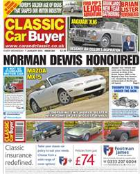 No.260 Norman Dewis Honoured issue No.260 Norman Dewis Honoured