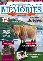 Scottish Memories February 2015 issue Scottish Memories February 2015
