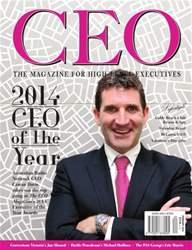 The CEO Magazine ANZ Magazine Cover