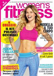 Womens Fitness Italia Magazine Cover
