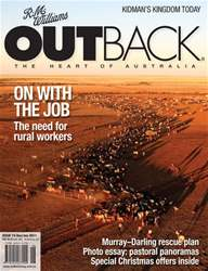 OUTBACK 74 issue OUTBACK 74
