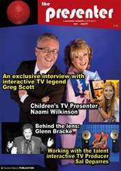 The Presenter Magazine Cover