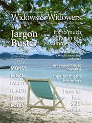 Widows And Widowers Magazine Cover