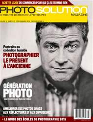 Photo Solution Février-Mars 2015 issue Photo Solution Février-Mars 2015