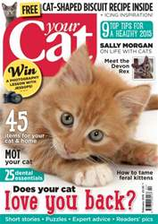 Your Cat Magazine February 2015 issue Your Cat Magazine February 2015