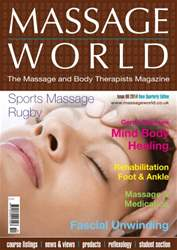 Massage World Issue 86 issue Massage World Issue 86