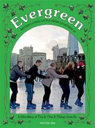 Evergreen Magazine Cover