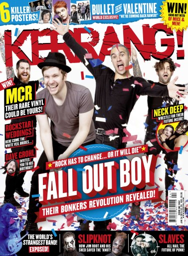 Kerrang Magazine - 20 January 2015 Subscriptions | Pocketmags