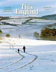 This England Magazine Cover