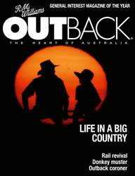 OUTBACK 99 issue OUTBACK 99