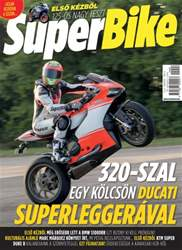 Superbike Hungary Magazine Cover