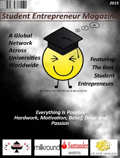 Student Entrepreneur Magazine Preview