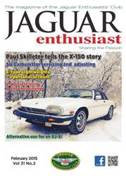 Vol.31 No.2 Paul Skilleter tell the X-150 Story issue Vol.31 No.2 Paul Skilleter tell the X-150 Story