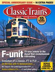 Classic Trains Magazine Cover