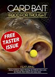 Carp Bait – Food for Thought FREE TASTER issue Carp Bait – Food for Thought FREE TASTER
