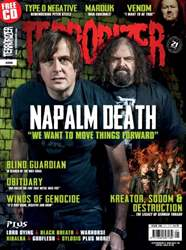 Terrorizer 256 issue Terrorizer 256