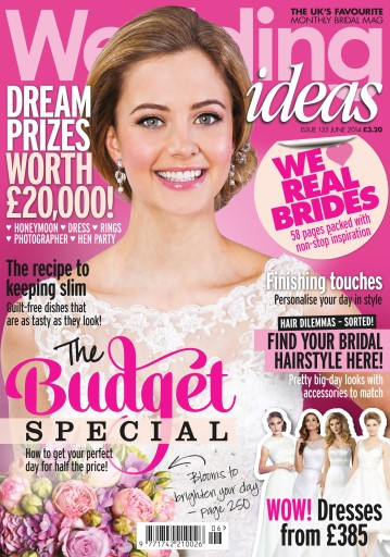 wedding ideas mag com wedding ideas magazine issue 135 june 2014 28018