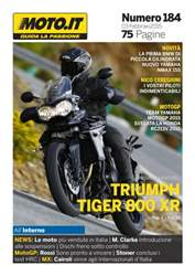 Moto.it Magazine n. 184 issue Moto.it Magazine n. 184