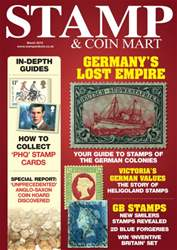 Germany's colonial stamps and more… issue Germany's colonial stamps and more…