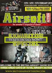 Airsoft Action Magazine Cover