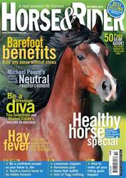 Horse&Rider Magazine - UK equestrian magazine for Horse and Rider Magazine Cover