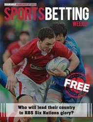Sports Betting Weekly Magazine Cover