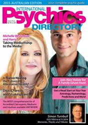 International Psychics Directory 2015 issue International Psychics Directory 2015