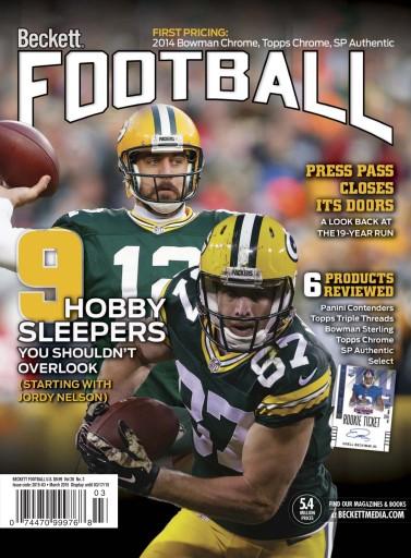 Beckett football magazine march 2015 subscriptions for Beckett tech support