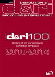 D&RI-100 Top Demolition Contractors 2010-2014  issue D&RI-100 Top Demolition Contractors 2010-2014