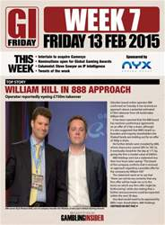 Week 7: Friday 13th Feb issue Week 7: Friday 13th Feb