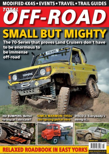 4x4 magazine incorporating total off road march 2015 subscriptions pocketmags. Black Bedroom Furniture Sets. Home Design Ideas