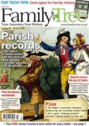 Family Tree March 2015 issue Family Tree March 2015