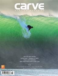 Carve Surfing Magazine issue 158 issue Carve Surfing Magazine issue 158