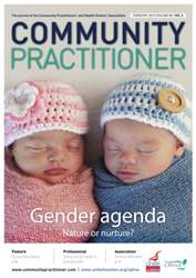 Community Practitioner February 2015 issue Community Practitioner February 2015