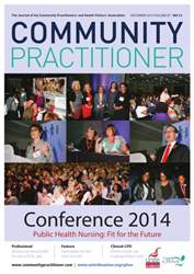 Community Practitioner December 2014 issue Community Practitioner December 2014