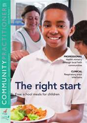 Community Practitioner January 2014 issue Community Practitioner January 2014