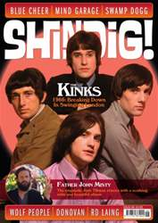 Shindig! Magazine Cover