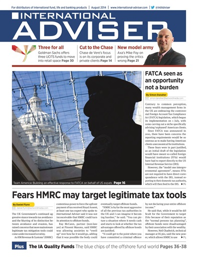 International Adviser Preview