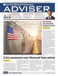 International Adviser Magazine Cover