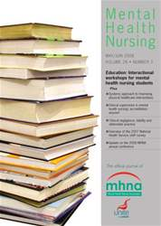 Mental Health Nursing MayJune 2008 issue Mental Health Nursing MayJune 2008