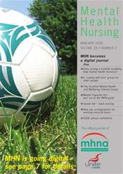 Mental Health Nursing MarchApril 2008 issue Mental Health Nursing MarchApril 2008