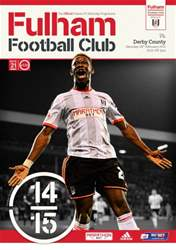 Fulham Vs. Derby County 2014-15 issue Fulham Vs. Derby County 2014-15