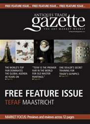 TEFAF MAASTRICHT FEATURE issue TEFAF MAASTRICHT FEATURE