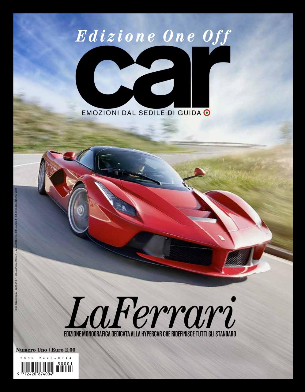 car magazine italia car edizione one off laferrari subscriptions pocketmags. Black Bedroom Furniture Sets. Home Design Ideas