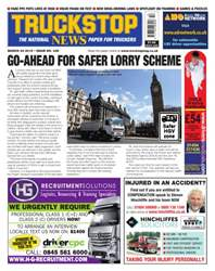 No.338 Go Ahead for Safer Lorry Scheme issue No.338 Go Ahead for Safer Lorry Scheme