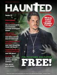 Issue 13 with Zak Bagans issue Issue 13 with Zak Bagans